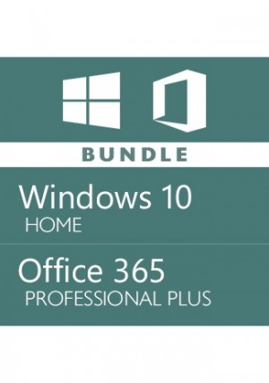 Windows 10 Home + Office 365 Account -Bundle