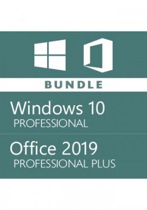 Windows 10 Pro + Office 2019 Pro Plus - Bundle