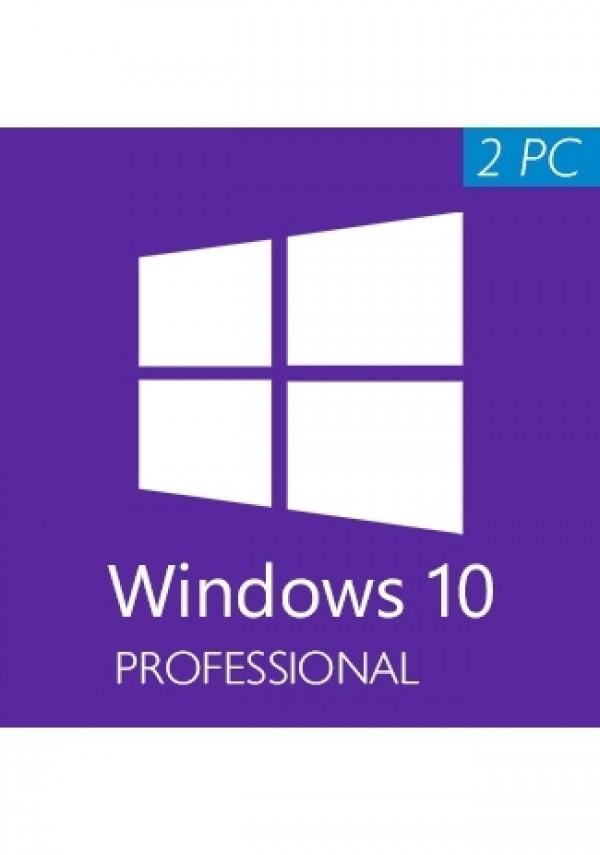 Win 10 Pro 2pc