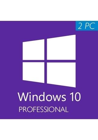 Microsoft Windows 10 Professional (32/64 Bit) (2 PC)